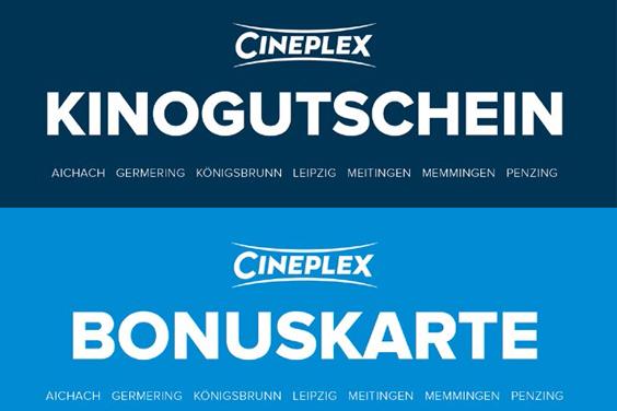 Kinogutscheine + Bonuskarten